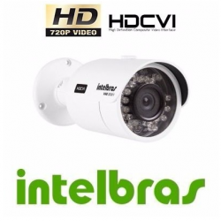 Camera Intelbras Hdcvi 720p 30ir Hd Vhd 3030b 3.6mm