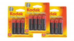 Kit Pilha Kodak AAx4 Extra Heavy Duty 1.5V 2019