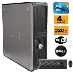 Dell optiplex mini 780 E8400 4gb HD 320gb