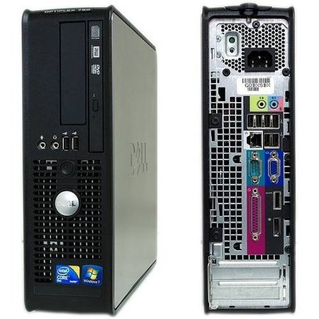Dell Optiplex 760 Slim + 500 HD + 4 GB Ram + Wi Fi