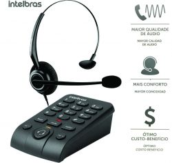 Telefone Intelbras Headset