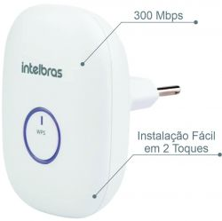 Repetidor WiFi Intelbras N300 IWE 3000N
