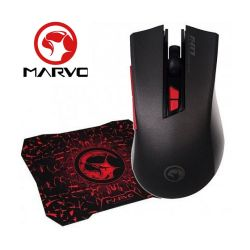 Combo Gamer Mouse + Mousepad  Scorpion  Marvo Liketec  M417