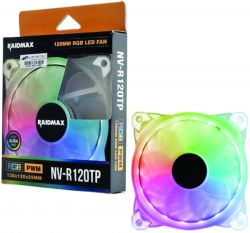 Cooler Raidmax 12MM RGB LED FAN