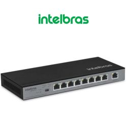 Switch portas Fast Ethernet com 8 portas PoE SF 900 Poe