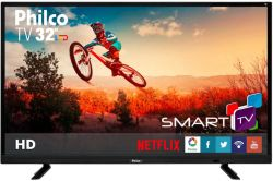 Smart TV Led HD 32 Philco Conversor Digital