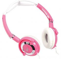 Headphone Travel Rosa