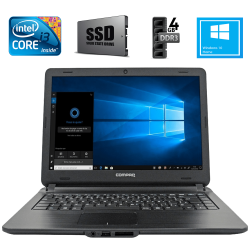"Notebook Compaq Presario CQ-21 14"" HD i3-5005U 120GB SSD 4GB Win10 H Preto"