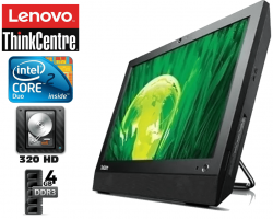 Lenovo All In One Thinkcentre Core 2 Duo 4gb Memoria Hd 320