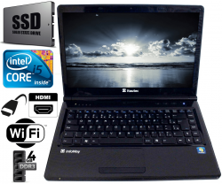 Notebook- Intel Core I5 Com 4gb SSD 120gb
