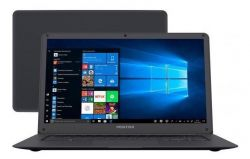"NOTEBOOK POSITIVO MOTION GRAY Q232A QUAD CORE 2GB 32SSD TELA 14"" WIN 10"