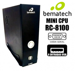Mini Computador Rc-8100 2gb Ram 320gb Hd Bematech