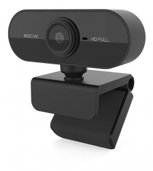 Webcam Full Hd 1080 Usb com Microfone