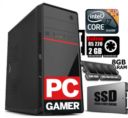 PC Gamer i7 Placa de Vídeo 2GB  Memória 8GB  SSD 120 GB