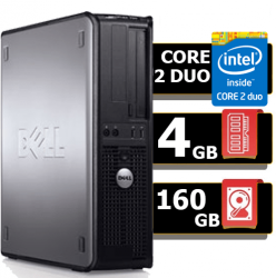 Desktop 755 Dell Optiplex Core 2 Duo 4gb Hd 160gb