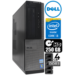 Computador Dell Optiplex 390 Core i3  Memória 4GB HD 250 GB